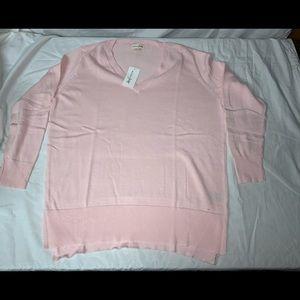 Maison Jules Pink Sweater